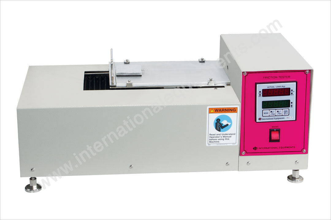 Coefficients of-Friction Tester